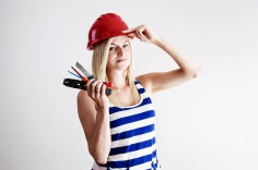 Trockenbau - Handwerkerin